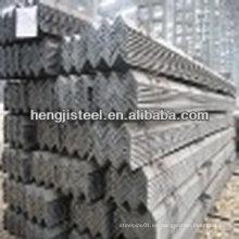 Barra de acero angular igual y desigual