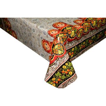 Housses de table élastiques imprimées pvc rond 60