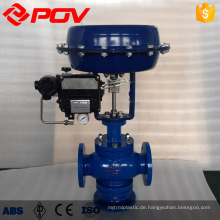 Pneumatische Steuerung 3-Wege-Dampfdurchflussmengen-Druckregelventil