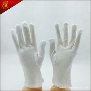 Лучшее качество белые хлопковые перчатки