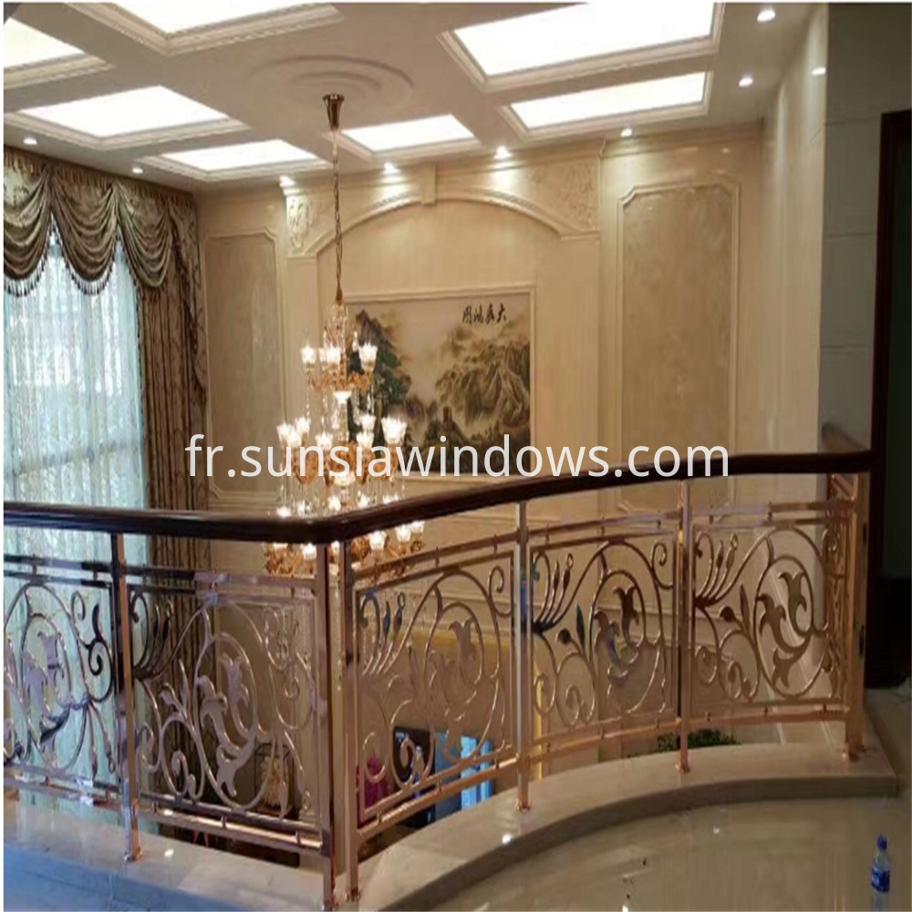 stair and balustrade