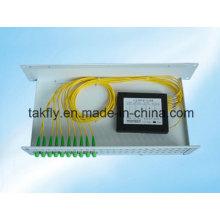 Buen precio 1310/1490 / 1550nm 1X8 divisor óptico