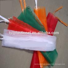 Sacos de empacotamento novos do fruto da malha da rede do monofilamento do HDPE de 100%