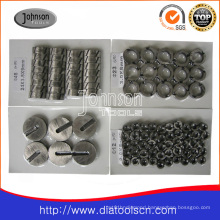 Core Bit Segment, Diamond Segment