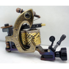 Special Technique Damascus Steel Tattoo Machine Gun