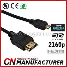 HDMI Cabo d tipo