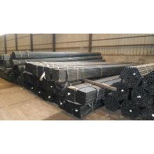 Ms tubes carrés tubes rectangulaires ASTM A500-GrB / Q235 / SS400