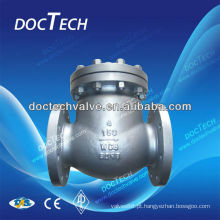 Válvula da Flange aço inoxidável ANSI b 16.34
