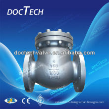 ANSI B16.34 нержавеющая сталь фланец обратный клапан