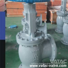 Flange RF Angle Type Globe Check Valve From Cast Stainless Steel