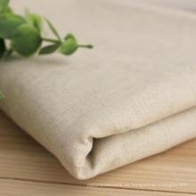 100% tela de lino, lino liso 14s tela de lino