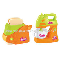 Electric Bread and Coffee Machine Toy Set, OEM Services Welcomed
