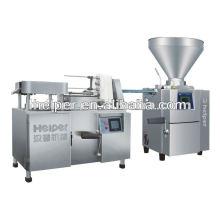 Máquina de amarração de salsicha de alta velocidade para torcer e selar a máquina