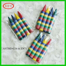 2014 hot selling non-toxic colorful crayons for children