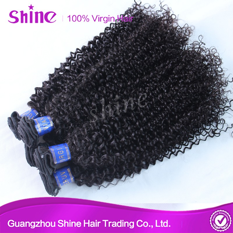 Grade 9a Virgin Curly Hair Weft