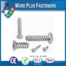 Made in Taiwan Plastite Thread Forming Screw