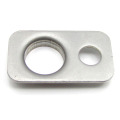 Chineses supplier new products OEM estampado arandelas rectangulares de acero inoxidable