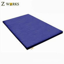 "Arcadia Blue 4'x8'x2"" Thick Folding Panel Gymnastics Mat Gym Fitness Exercise Mat For Sale"