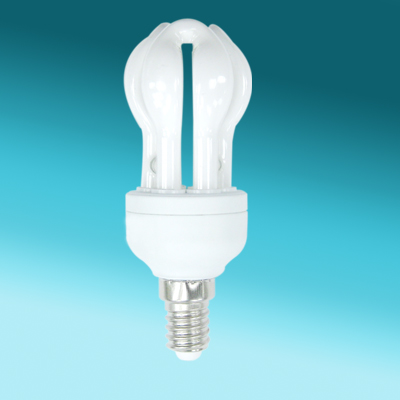 2U Mini Lotus E27 CFL Bulb