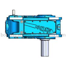 Caja de cambios reductora de engranajes helicoidales