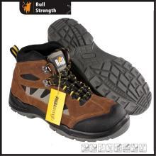 PU/PU Outsole camurça couro segurança sapato novo com Toe (SN5502)