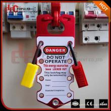 Cache de verrouillage de sécurité en aluminium OEM avec étiquette