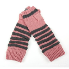 Lady Fashion Acrylic Knitted Winter Gloves Arm Warmer (YKY5450)