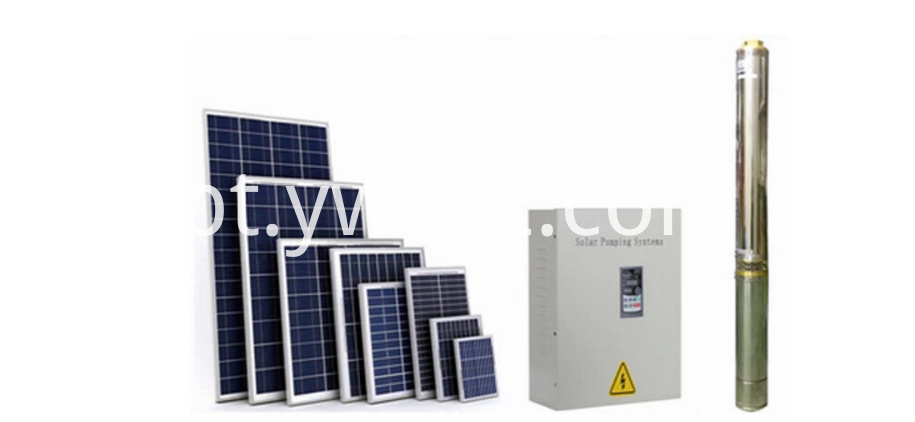 1.1KW Home Solar Water Pump