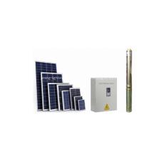 Pequeño sistema de bomba de agua solar doméstica