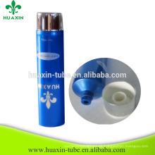 venta caliente personalizada de impresión de pantalla 100 g tubo cosmético de plástico para la venta