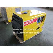 Дизельный генератор воздушного охлаждения охладитель 5HP 3кВт электроэнергии