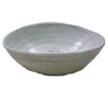 Melamine Oval Bowl with Thread Melamine Bowl (QQBK1615)