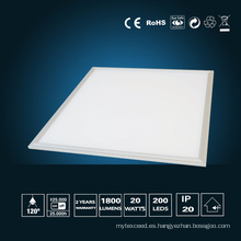 Luz de Panel LED de 20W 295 * 295 * 10 mm