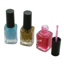 Empty Nail Polish Glass Bottles with Brush Caps 20ml