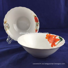 tazón de fuente barato de cerámica al por mayor