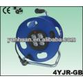 Câbles électriques avec tambour
