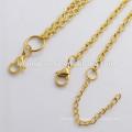 Beautiful floating locket hign end fashion gold jewelry necklace wholesale