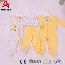 Mamelucos largos preciosos de la ropa del bebé de la manga de los niños al por mayor preciosos