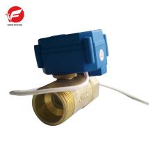 A válvula de controle de fluxo elétrica 4-20ma 12v elétrica mais durável