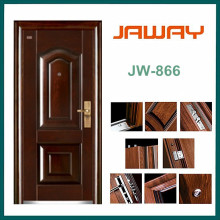 Factory Economic Flush Design Steel Doors