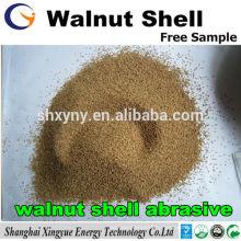 grain de coquille de noix / coquille de noix grain de sable abrasif pour le sablage