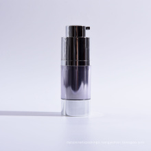 15ml Double Wall Cylinder Twist up Airless Bottles with Base