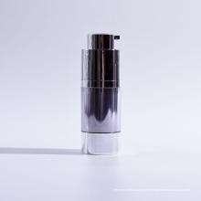 15ml Cilindro de parede dupla Twist up Airless garrafas com base