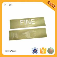 PL05 Professionelle Versorgung Druck Kleidung Label / Hate Printing Label