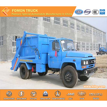 140hp Dongfeng swing arm garbage truck