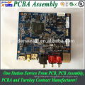 single sided pcb with wiring harness and immersion gold led pcb assembly machine