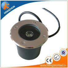 Luz de inground subterrânea de cobre / aço inoxidável Luz subterrânea de LED com alta qualidade