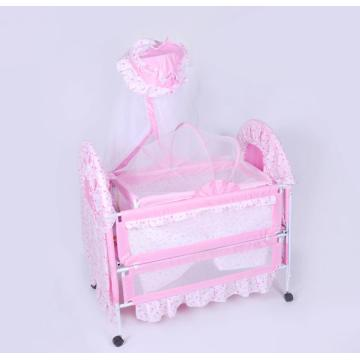 Palace Design Baby Playpen Gaming with Cradle