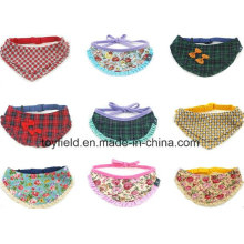 Pañuelo de algodón para mascotas Pañuelo para perro impreso ajustable
