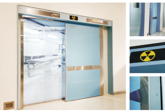 Ningbo GDoor Medical Hermetic Doors with Anodised Aluminum Profile